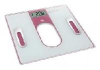 Osobní váha s tukoměrem Bravo B-5098 růžová