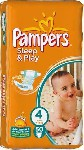 Plenky PAMPERS Sleep&Play 4 (8-14 kg) 50 ks