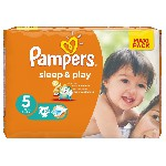 Plenky PAMPERS Sleep&Play 5 (11-18 kg) 42 ks